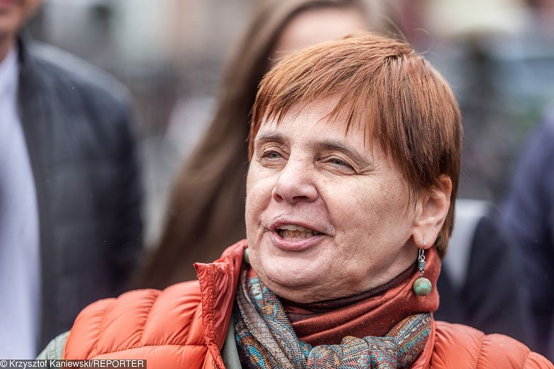 Janina Ochojska trafiła do szpitala w Krakowie