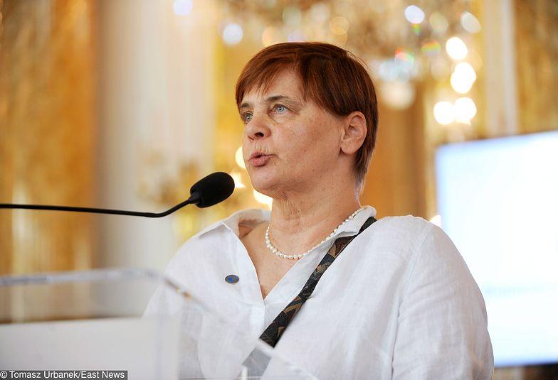 Janina Ochojska będzie jedynką na listach do PE we Wrocławiu