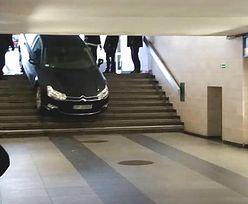 Niecodzienne zdarzenie na dworcu Łódź Kaliska. Kierowca pomylił zjazdy