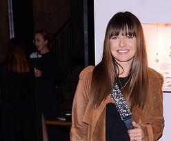 Anna Lewandowska w jesiennych botkach. Ten model wysmukla nogi