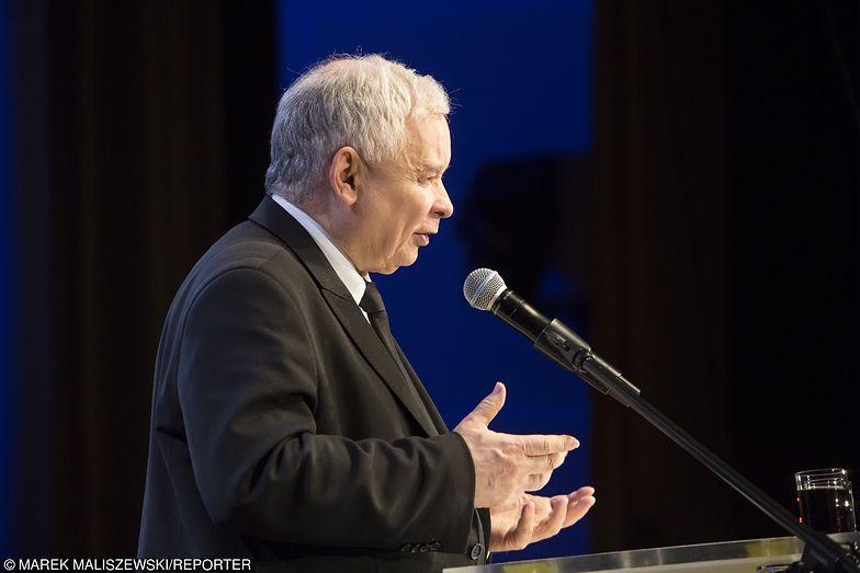 Wybory parlamentarne 2019. Jarosław Kaczyński, prezes PiS.
