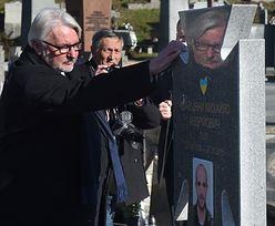 """""""Komu przeszkadzają ludzie, którzy tutaj leżą, oni są już martwi"""". Waszczykowski z wizytą na Ukrainie"""