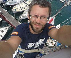 Szymon Kuczyński opłynął świat na łódce bez silnika. Na morzu spędził dziewięć miesięcy