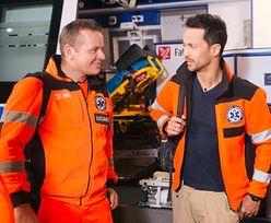 Polski aktor ratownikiem w karetce pogotowia