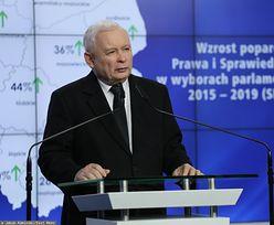 """Konferencja Jarosława Kaczyńskiego po wyborach 2019. """"Myśleliśmy, że są jakieś limity"""""""