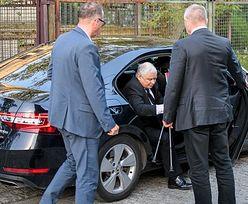 Plotki o stanie zdrowia Kaczyńskiego. Bielan dementuje pogłoski
