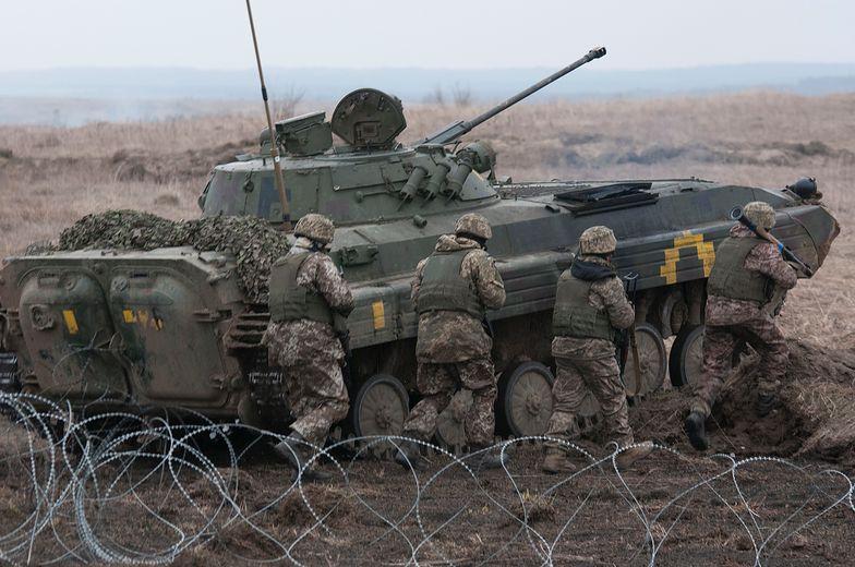 Eskalacja walk na Ukrainie. Zabito pięciu żołnierzy