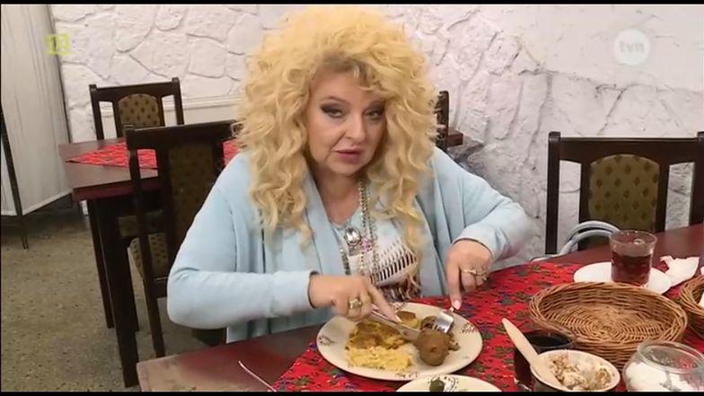 "Magda Gessler w restauracji ""Marysieńka"""
