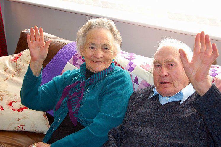 Vera i Wilf Russell