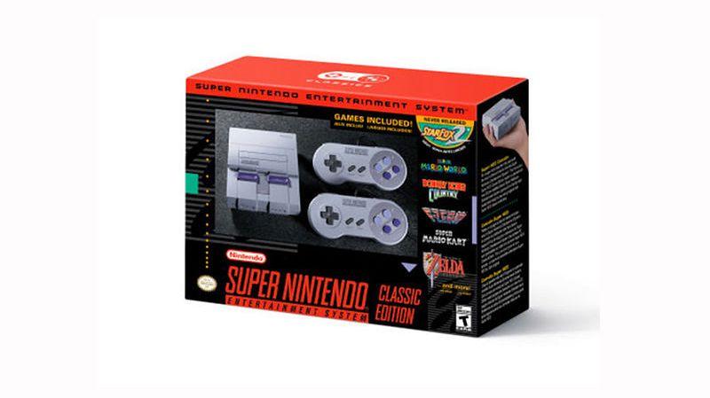 Nintendo zapowiada SNES-a Classic