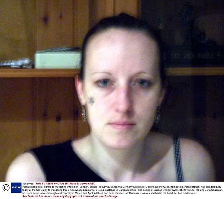 Joanna Dennehy zabiła Łukasza S. z zimną krwią. Odsiaduje dożywocie