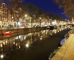 Śmierć turysty w Amsterdamie. Po imprezie utonął w kanale