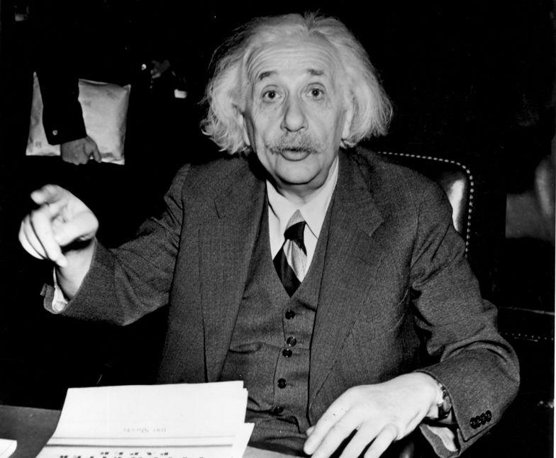 Odręczny list Einsteina o Bogu wystawiony na aukcji. Ma kosztować 1,5 mln dolarów