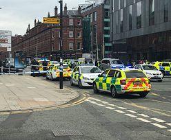 Atak nożownika w angielskim Hiltonie. Policja wyprowadza 6 osób w kajdankach