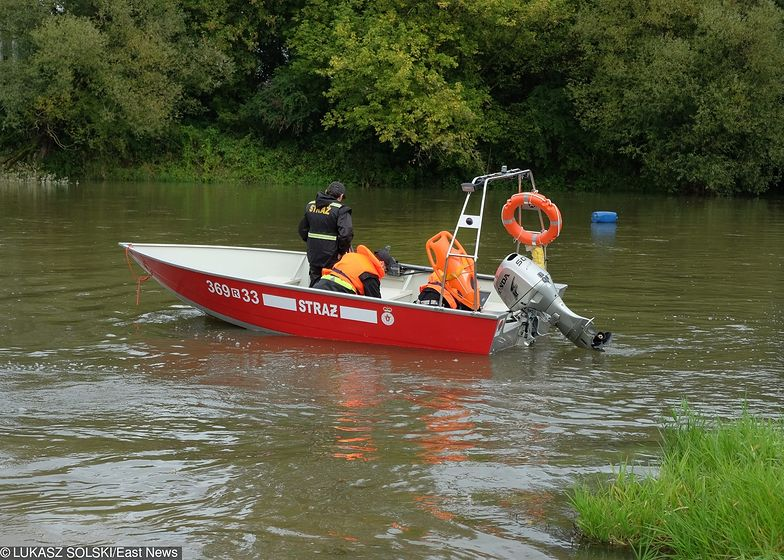 Strażacy szybko odnaleźli poszukiwanego mężczyznę