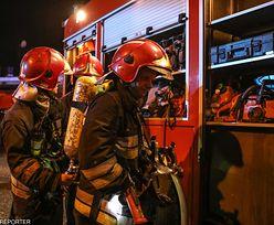 Łódź: pożar w kamienicy. Nie żyją dwie osoby