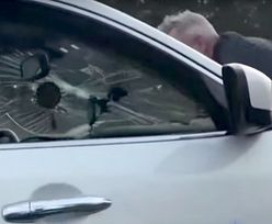 Trzymał się maski pędzącego auta i wzywał pomoc. Nagranie z USA