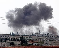 Ogromna eksplozja wstrząsnęła Damaszkiem