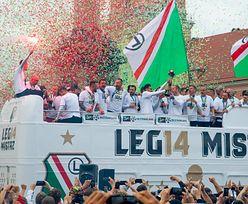 Wielkie świętowanie kibiców Legii Warszawa. Zobacz zdjęcia