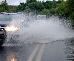 Alerty przed intensywnymi opadami deszczu. Możliwe lokalne podtopienia