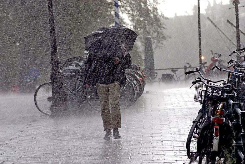 Intensywne opady deszczu na Pomorzu