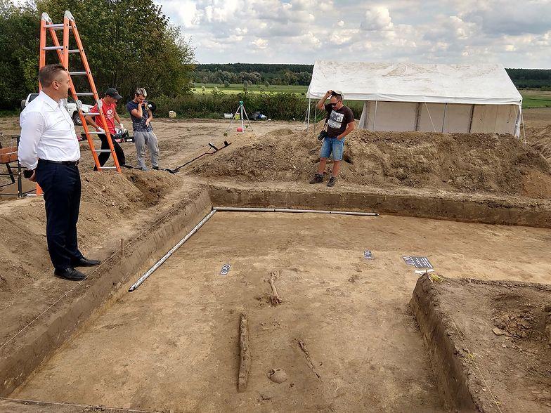 Rzadkie odkrycie w Gródku niedaleko Hrubieszowa