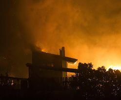 Nowa fala pożarów w Grecji. Ewakuowano dwie miejscowości