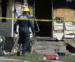 Troje dzieci strażaka zginęło. Ojciec pojechał do fałszywego alarmu