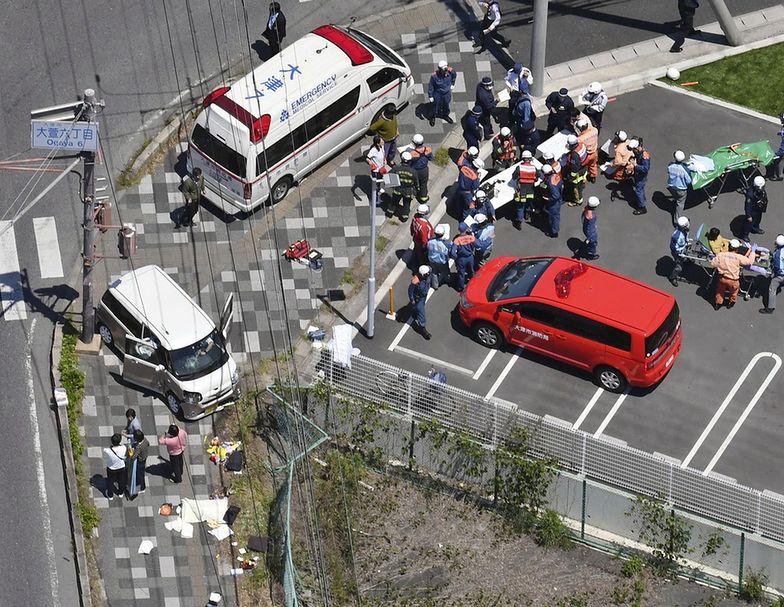 Samochód wjechał w grupę przedszkolaków, Japonia