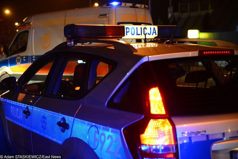 Wypadek na drodze krajowej nr 28 w Bieczu