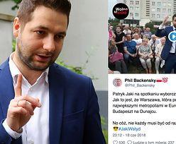 """Patryk Jaki tłumaczy nam, skąd wpadka w wystąpieniu. """"Budapeszt nad Dunajcem"""""""