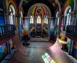 Przerobili kościół na skatepark. Zobacz zdjęcia