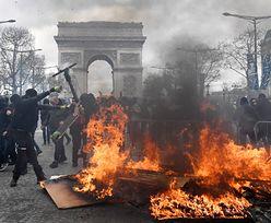 Chaos we Francji. Masowo okradają ekskluzywne sklepy