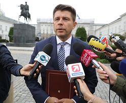 """Ryszard Petru o atmosferze konsultacji u Andrzeja Dudy. """"Mogę zdradzić taki głupi dowcip"""""""