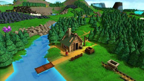 Gra Wstępna: Factory Town. Gdy Factorio spotyka się z Minecraftem
