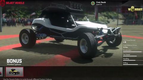 Wombaty w ruchu? Tak, choć Driveclub oferuje pojazdom z Motorstorma dość ograniczoną przestrzeń do hasania