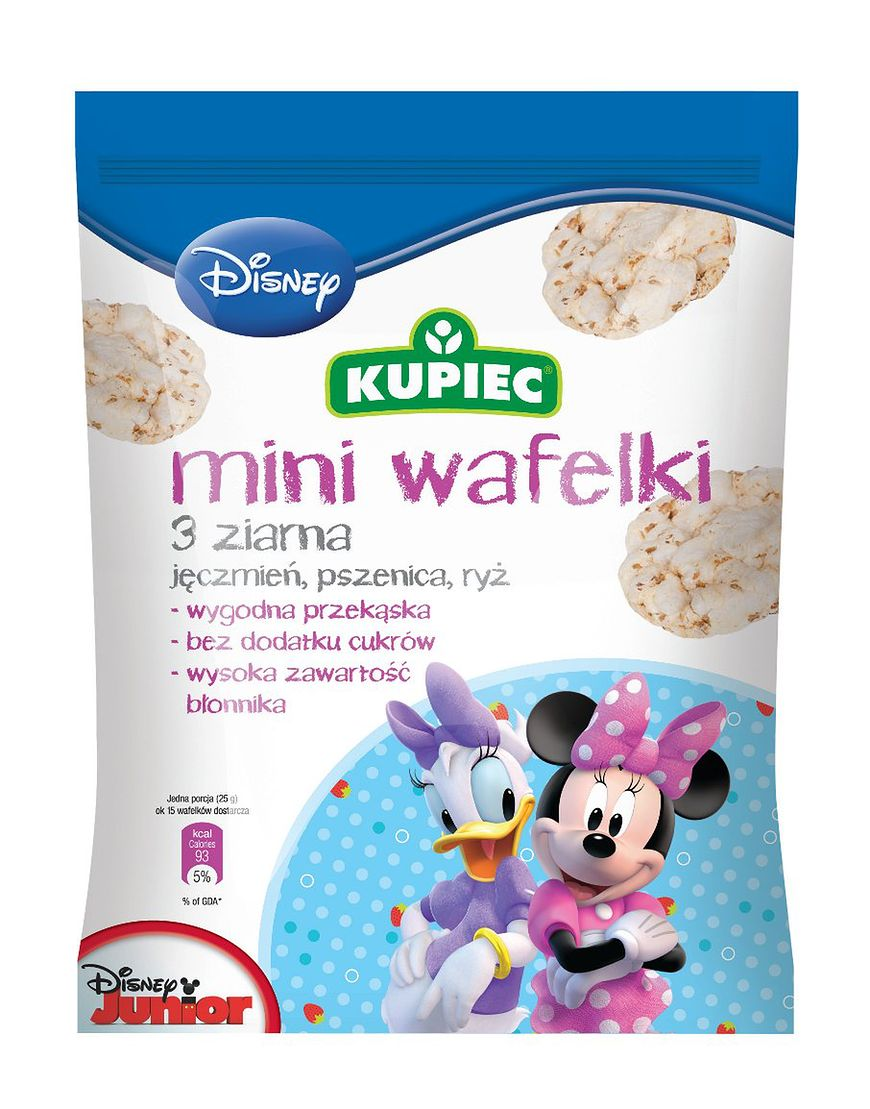 Mini wafelki - 3 ziarna