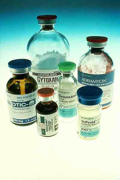 Leki powszechnie stosowane w chemioterapii