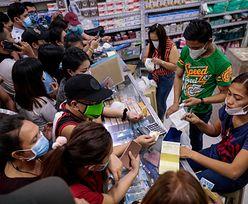 Panika na Filipinach. Mieszkańcy masowo wykupują maseczki ochronne