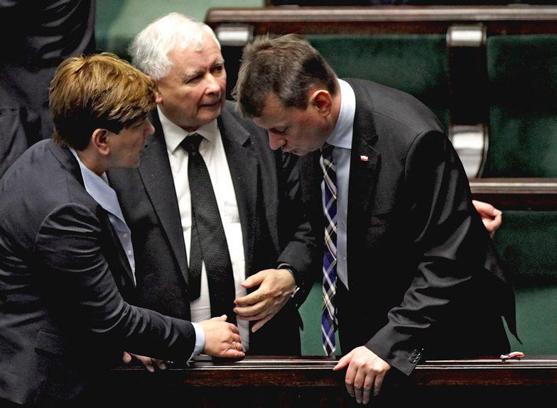 Partia Jarosław Kaczyńskiego cieszy się największym poparciem