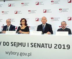 Wyniki wyborów 2019. Konferencja PKW
