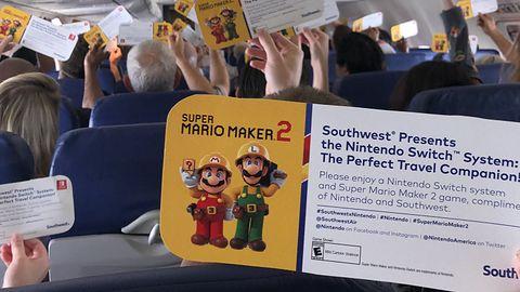 Każdy pasażer lotu na Comic-Con dostał... Switcha