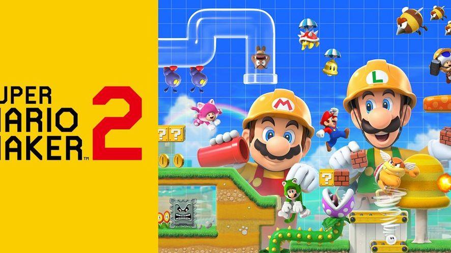 Super Mario Maker 2 ponownie na pierwszym miejscu list sprzedaży