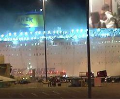 Pożar na greckim promie. Na jego pokładzie jest ponad tysiąc osób
