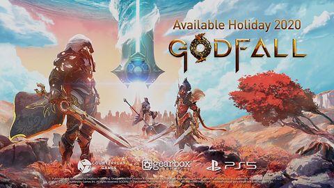 Slasher Godfall na PS5. I w końcu prawdziwy gameplay na PS5