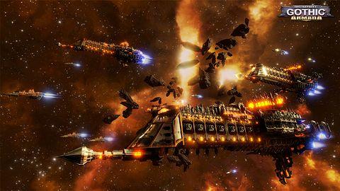 Kto ma ochotę na nowego RTS-a w świecie Warhammera? Poznajcie Battlefleet Gothic: Armada