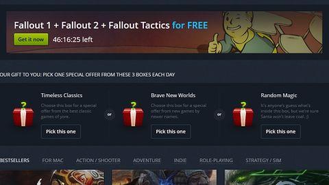 Rozpoczęła się zimowa wyprzedaż na GOG-u. Fallout, Fallout 2 i Fallout Tactics do pobrania za darmo