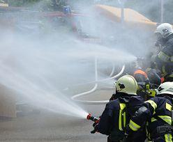 Płonie urząd miasta w Raciborzu. Ewakuowano prawie 200 osób