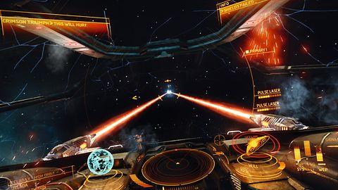 Kosmiczne bitwy z Elite: Dangerous w akcji na Xboksie One