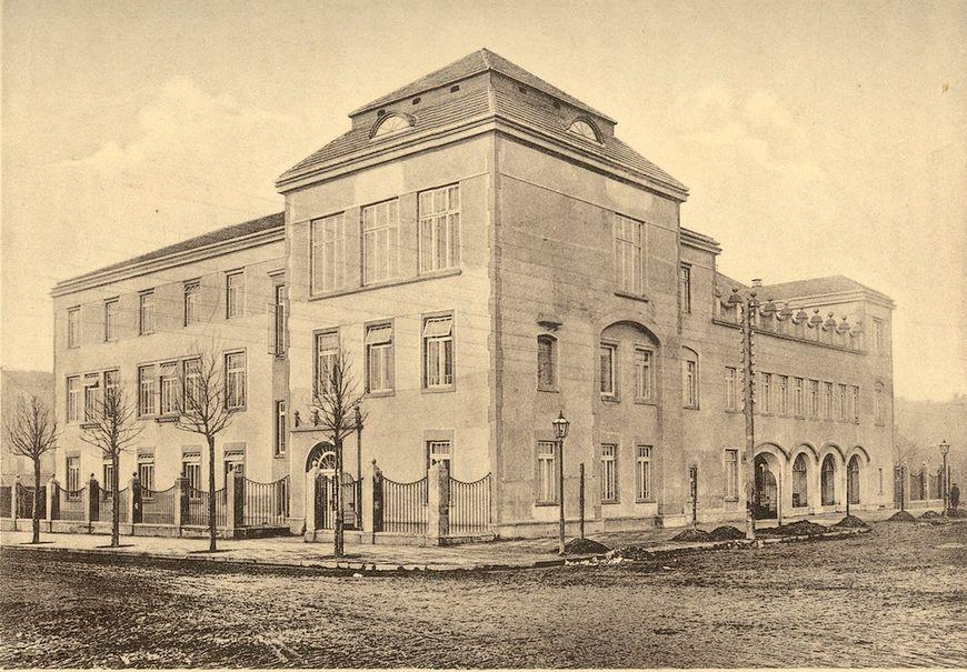 Szpital Kliniczny im. ks. Anny Mazowieckiej w Warszawie - widok historyczny